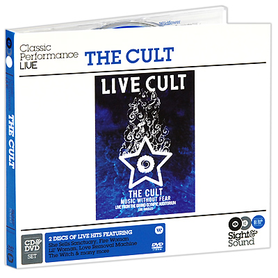 The Cult Music Without Fear (CD + DVD) Серия: Sight & Sound инфо 12899e.